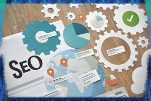 Graphic for SEO; don't forget keywords when writing.